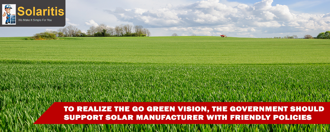 Government Support Solar Manufacturer in India